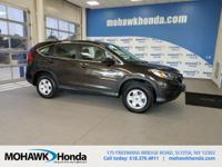Recent Arrival! This 2015 Honda CR-V LX in Kona Coffee