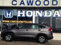 Options:  2015 Honda Cr-V Lx|Gray|5.048 Axle Ratio|16