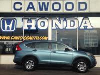 Options:  2015 Honda Cr-V Lx|Awd|Bluetooth!| I-Pod Aux
