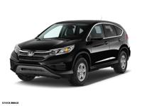 We are excited to offer this 2015 Honda CR-V. This SUV