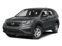 AWD. 2015 Honda CR-V LX Odometer is 15514 miles below