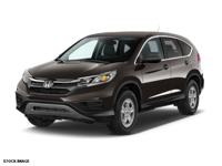 Make sure to get your hands on this 2015 Honda CR-V LX