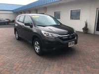 This 2015 Honda CR-V LX is proudly offered by Big