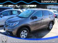 Check out this gorgeous low mileage 2015 Honda CR-V LX