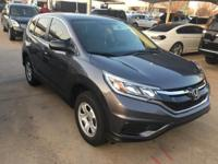 We are excited to offer this 2015 Honda CR-V. How to