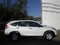 Options:  2015 Honda Cr-V Lx|White|2.4L 4 Cyls|Cvt