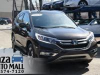 Recent Arrival! Certified. 2015 Honda CR-V Touring