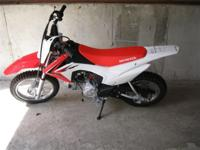 (573) 281-4257 ext.175 The CRF110F is a great bike for
