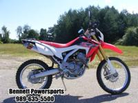 For Sale 2015 Honda CRF250L, Stop in and take a look at