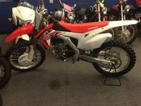 Next the CRF450R's revolutionary KYB Air Fork features