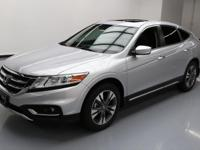 2015 Honda Crosstour with 3.5L V6 Engine,Leather