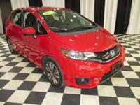 OVERVIEW This 2015 Honda Fit 4dr Hatchback CVT features