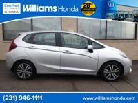 HONDA CERTIFIED PRE-OWNED FIT!!! CARFAX One-Owner.