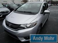 CARFAX One-Owner. 2015 Honda Fit EX in Alabaster Silver