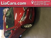 2015 Honda Fit in Milano Red, Bluetooth, and Clean