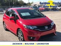 This is Milano Red 2015 Honda Fit EX with only 29,763