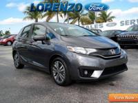 Options:  2015 Honda Fit Ex|Gray/|V4 1.5 L