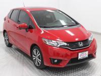 Options:  2015 Honda Fit Ex|Red|Black W/Cloth Seat