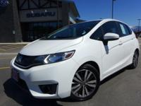Options:  2015 Honda Fit Ex|White|160-Watt Am/Fm/Cd