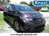 Berry 2015 Honda Fit EX FWD CVT 1.5L I4  GREAT DEALS @