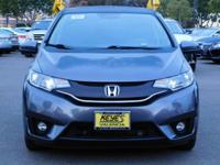 Options:  2015 Honda Fit Ex-L|Gray/Black|V4 1.5L