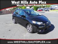 PREMIUM & KEY FEATURES ON THIS 2015 Honda Fit include,