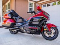 2015 Honda Gold Wing ABS, 40TH ANNIVERSARY EDITION.