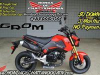 Red 2015 Honda Grom For Sale - Honda of Chattanooga. *