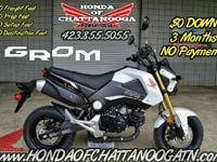 White 2015 Honda Grom For Sale - Honda of Chattanooga.