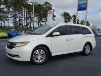 CARFAX One-Owner. White Diamond Pearl 2015 Honda