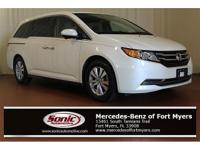 This 2015 Honda Odyssey EX-L comes loaded with features