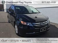 CARFAX One-Owner. Crystal Black Pearl 2015 Honda