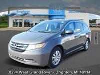Options:  2015 Honda Odyssey Ex|Brown|Carfax One-Owner.