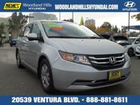 Options:  2015 Honda Odyssey Ex Silver/ V6 3.5 L