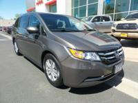 New Arrival! This 2015 Honda Odyssey EX will sell fast