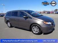 This 2015 Odyssey is a one owner vehicle with a clean
