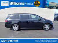HONDA CERTIFIED PRE-OWNED ODYSSEY!!! CARFAX One-Owner.