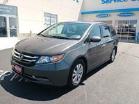 Step into the 2015 Honda Odyssey! Very clean and very