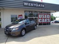 CARFAX One-Owner. Clean CARFAX. Grey 2015 Honda Odyssey