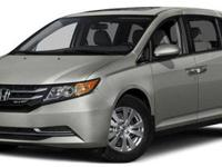 New Arrival! This 2015 Honda Odyssey Includes