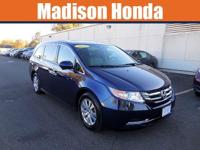 2015 HONDA ODYSSEY EX-L / LEATHER, MOONROOF, ONE OWNER,