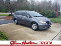 Check out this gently-U 2015 Honda Odyssey we recently