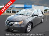 Options:  2015 Honda Odyssey Ex-L|Brown|Clean Carfax.