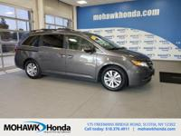 Recent Arrival! This 2015 Honda Odyssey EX-L in Modern