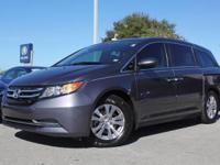 2015 Honda Odyssey EX-L, Original Manufacturer