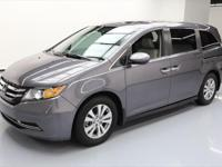 2015 Honda Odyssey with Leather Seats,Power Front