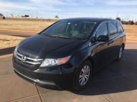 We are excited to offer this 2015 Honda Odyssey. When