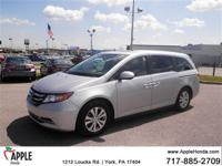 Recent Arrival! CARFAX One-Owner.  2015 Honda Odyssey