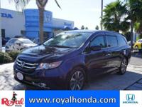 Options:  2015 Honda Odyssey Touring Elite|This Vehicle