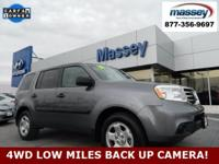 CARFAX One-Owner. Clean CARFAX. Gray 2015 Honda Pilot